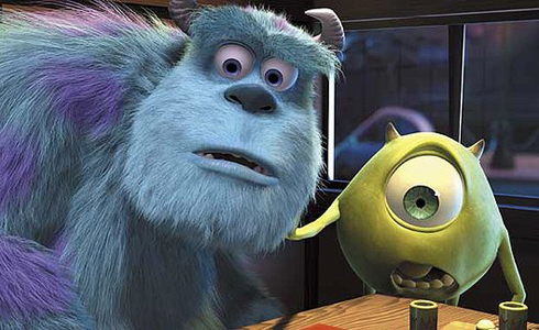 Still shot from the movie: Monsters, Inc..