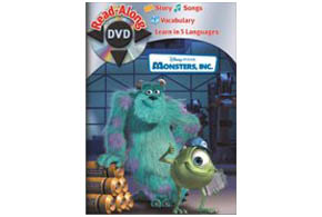 Still shot from the movie: Monsters, Inc. Read-Along DVD.