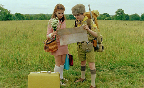 Still shot from the movie: Moonrise Kingdom.