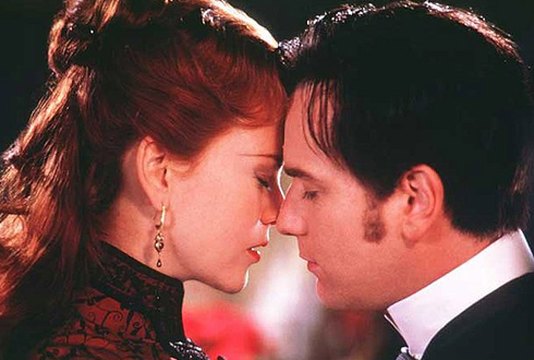 Still shot from the movie: Moulin Rouge.