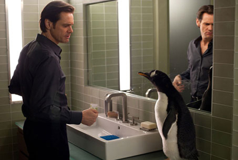 Still shot from the movie: Mr. Popper's Penguins.