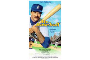 Still shot from the movie: Mr. Baseball.