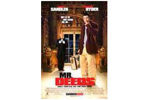 Still shot from the movie: Mr. Deeds.