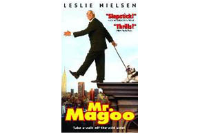 Still shot from the movie: Mr. Magoo.