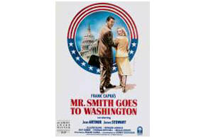 Still shot from the movie: Mr. Smith Goes To Washington.