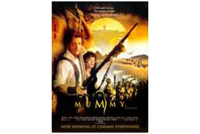 Still shot from the movie: The Mummy.