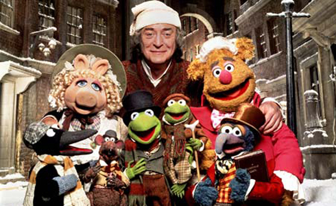 Still shot from the movie: The Muppet Christmas Carol.