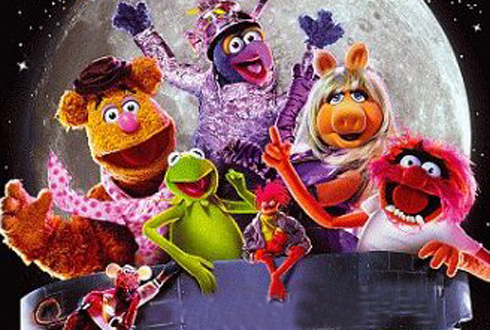 Still shot from the movie: Muppets From Space.
