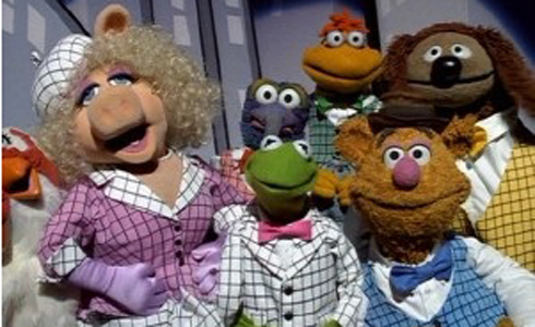 Still shot from the movie: The Muppets Take Manhattan.