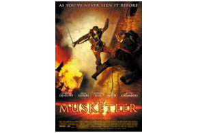 Still shot from the movie: The Musketeer.