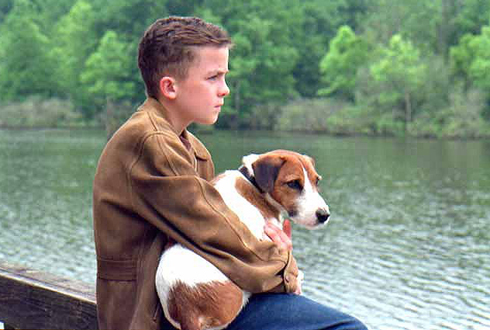 Still shot from the movie: My Dog Skip.