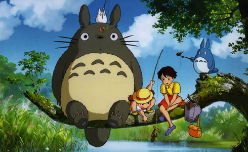 Still shot from the movie: My Neighbor Totoro.