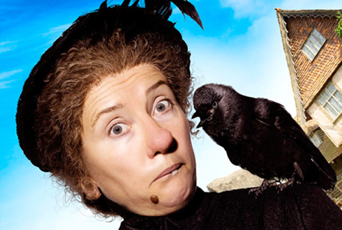 Still shot from the movie: Nanny McPhee Returns.