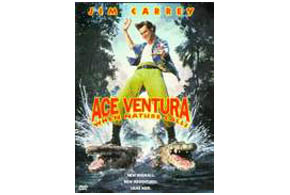 Still shot from the movie: Ace Ventura: When Nature Calls.