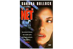 Still shot from the movie: The Net.