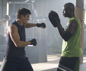 Still shot from the movie: Never Back Down.