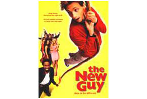 Still shot from the movie: The New Guy.