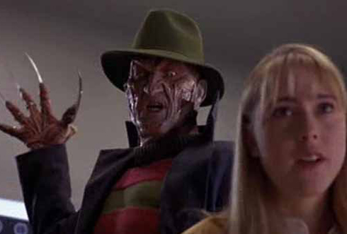 Still shot from the movie: Nightmare on Elm Street (1984).
