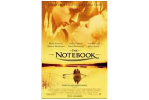 Still shot from the movie: The Notebook.