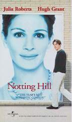 Still shot from the movie: Notting Hill.