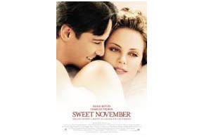 Still shot from the movie: Sweet November.