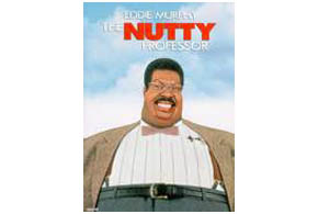 Still shot from the movie: The Nutty Professor.