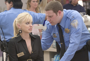 Still shot from the movie: Observe and Report.