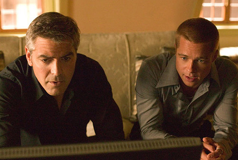 Still shot from the movie: Ocean's Twelve.