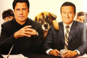 Still shot from the movie: Old Dogs.