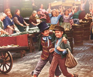 Still shot from the movie: Oliver!.