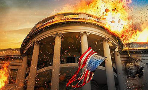 Still shot from the movie: Olympus Has Fallen.