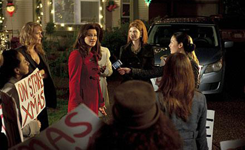 Still shot from the movie: On Strike For Christmas.