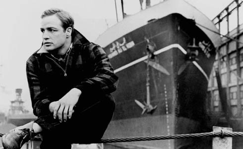 Still shot from the movie: On The Waterfront.