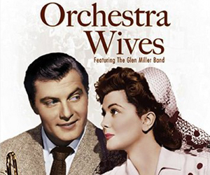 Still shot from the movie: Orchestra Wives.