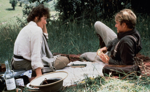 Still shot from the movie: Out of Africa.