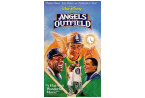 Still shot from the movie: Angels In The Outfield.