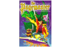 Still shot from the movie: The Pagemaster.