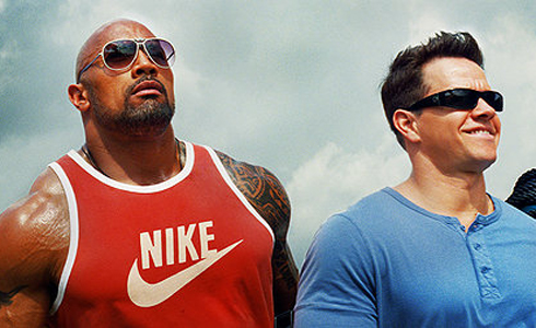 Still shot from the movie: Pain & Gain.
