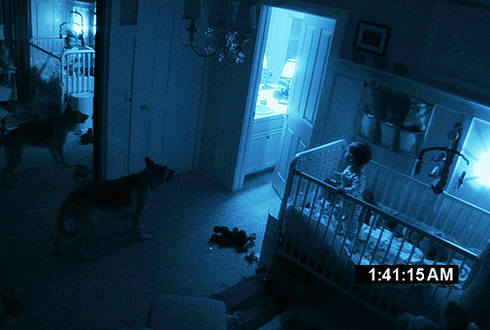 Still shot from the movie: Paranormal Activity 2.