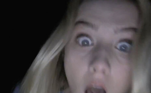 Still shot from the movie: Paranormal Activity 4.