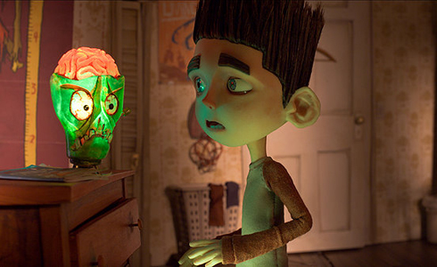 Still shot from the movie: ParaNorman.