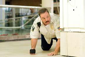 Still shot from the movie: Paul Blart Mall Cop.