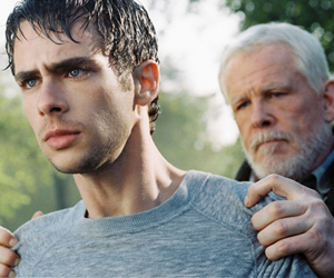 Still shot from the movie: Peaceful Warrior.