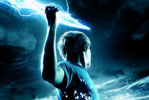 Still shot from the movie: Percy Jackson & the Olympians: The Lightning Thief.