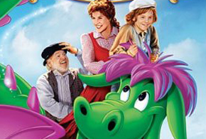 Still shot from the movie: Pete's Dragon.