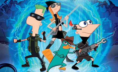 Still shot from the movie: Phineas and Ferb The Movie: Across the 2nd Dimension.