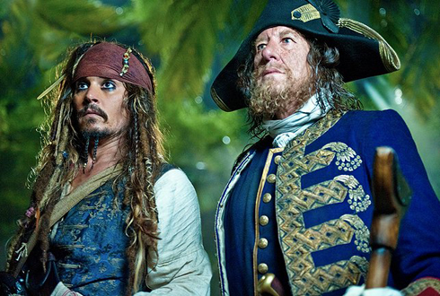 Still shot from the movie: Pirates of the Caribbean: On Stranger Tides.