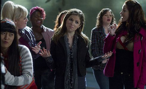 Still shot from the movie: Pitch Perfect.
