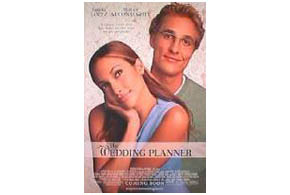 Still shot from the movie: The Wedding Planner.