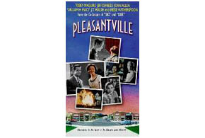 Still shot from the movie: Pleasantville.